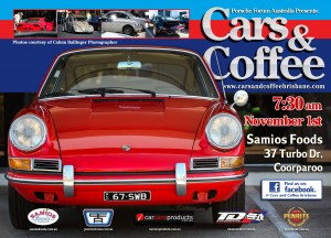 Cars & Coffee November Flyer