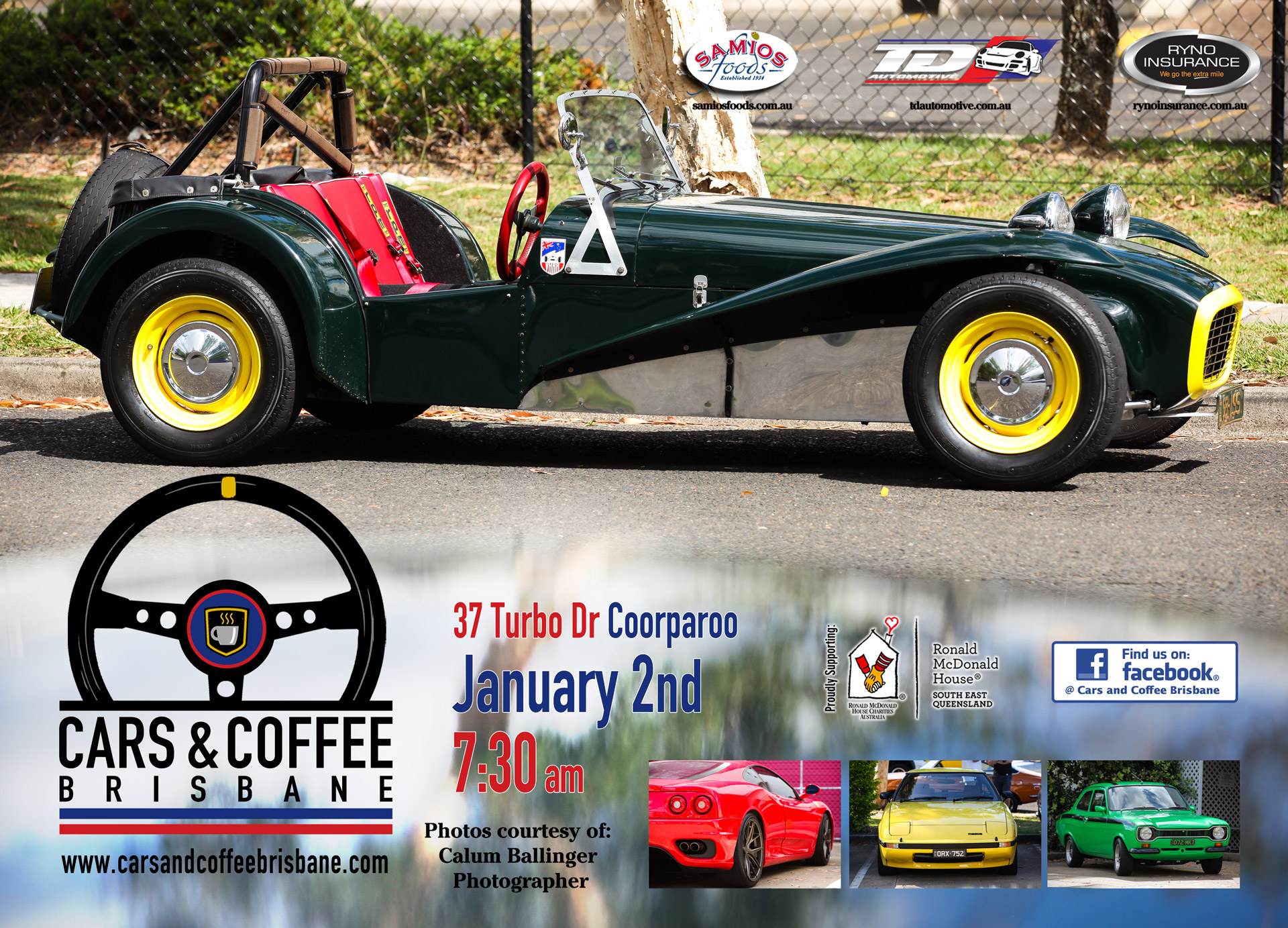 Cars & Coffee Brisbane | Classic Cars, Great Coffee and No Flat ...