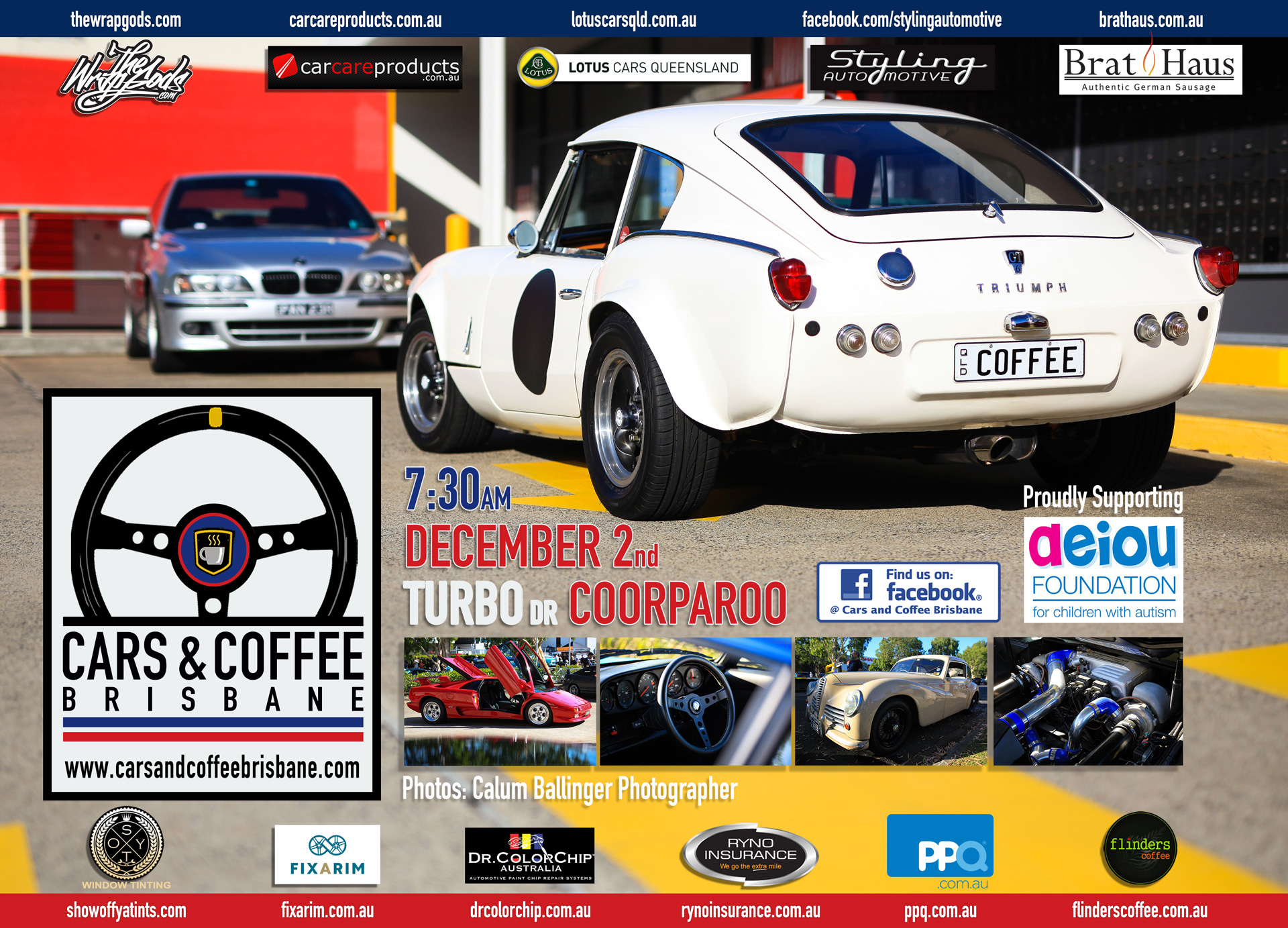 Cars & Coffee Brisbane | Classic Cars, Great Coffee and No Flat Brims
