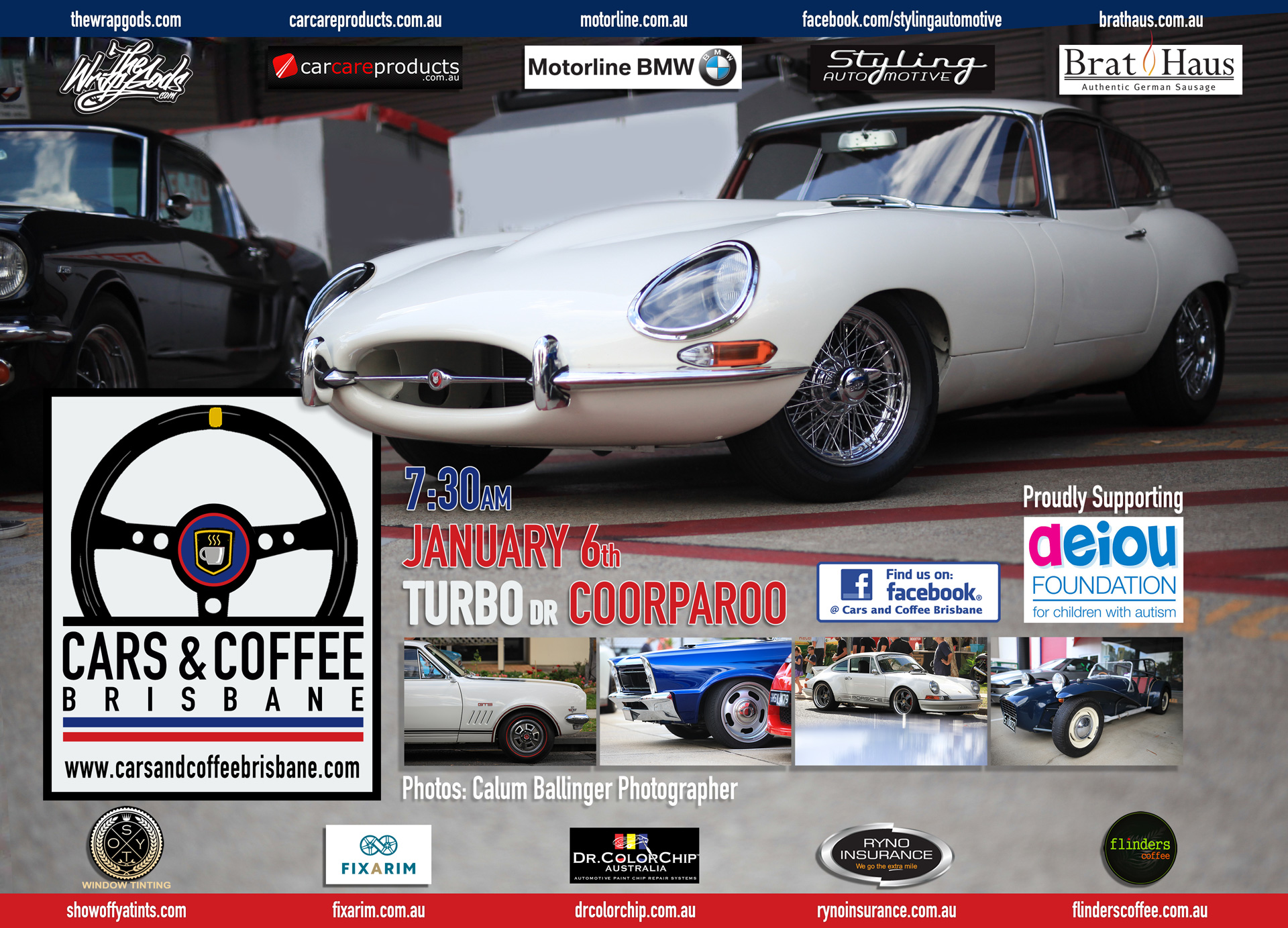 Cars Coffee Brisbane Classic Cars Great Coffee And No Flat Brims